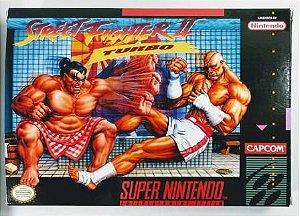 Jogo Street Fighter 2 Turbo - SNES