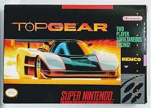 Jogo Top Gear - SNES