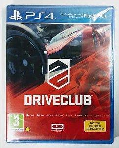 Jogo Driveclub (lacrado) - PS4