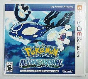 Jogo Pokemon Alpha Sapphire Original - 3DS