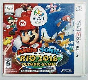 Jogo Mario & Sonic Rio 2016 Olympic Games Original - 3DS