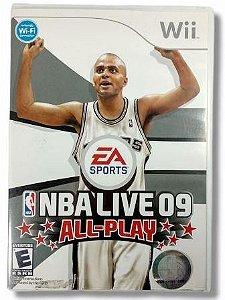 Jogo NBA Live 09 All-Play - Wii