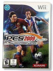 Jogo PES 2009 - Wii