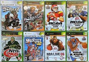 Jogos de Esportes (cada) - Xbox Clássico