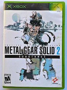 Metal Gear Solid 2 - Xbox Clássico