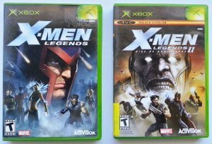 X-men Legends I e II (cada) - Xbox Clássico
