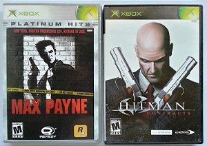 Hitman / Max Payne (cada) - Xbox Clássico