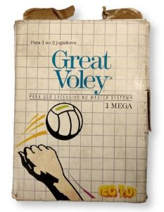 Jogo Great Voley - Master System