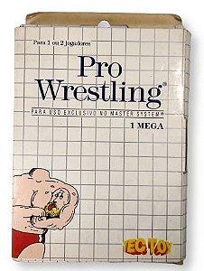 Jogo Pro Wrestling - Master System