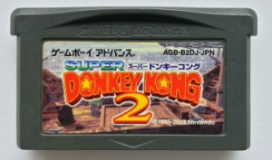 Donkey Kong Country 2 Original [Japonês] - GBA
