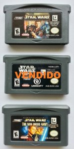 Star Wars (variações) Original - GBA