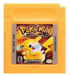 Jogo Pokemon Yellow  - GBC