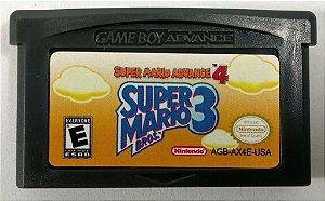 Jogo Super Mario Bros 3 - GBA