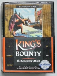 Kings Bouty Original - Mega Drive