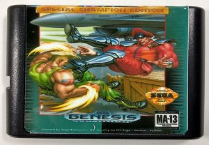 Street Fighter 2 Special Champion Edition - Mega drive
