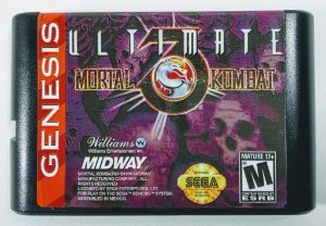 Ultimate Mortal Kombat 3 - Mega Drive