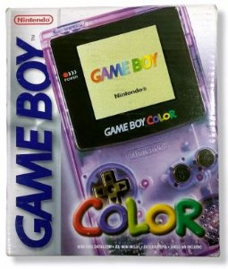 Game Boy Color (inclui caixa e manual)