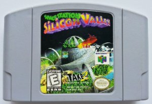 Space Station Silicon Valley Original - N64