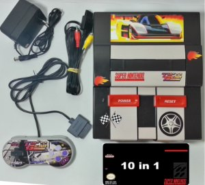 Super Nintendo Personalizado TopGear + 10 jogos - SNES
