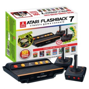 Atari Flashback 7 com 2 controles sem fio e 101 jogos na memória