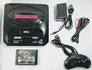 Console Mega Drive 2 Japonês (inclui jogo Streets of Rage 2)