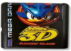 Jogo Sonic 3D Blast - Mega Drive