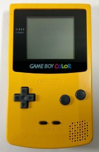 Game Boy Color Amarelo - GBC