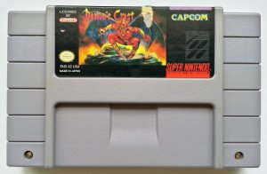 Demons Crest Original - SNES