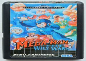 Mega Man the Wily Wars - Mega Drive