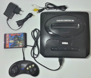 Mega Drive 3 + Rock n Roll Racing