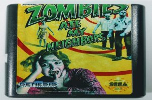 Zombies ate my Neighbors - Mega Drive