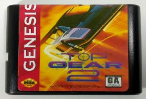 Top Gear 2 - Mega Drive