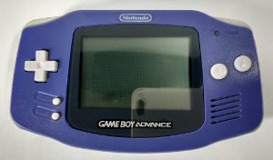 Game Boy Advance Roxo - GBA