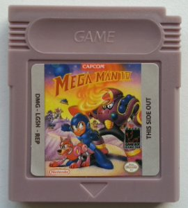 Mega Man IV - GB