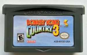 Donkey Kong Country 3 - GBA