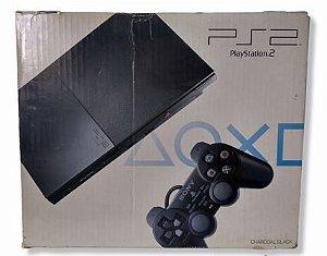 Console Sony Playstation 2 Slim (Destravado com 5 jogos) - PS2
