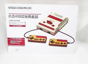 Mini Famicom Nes classic CLONE com 400 jogos