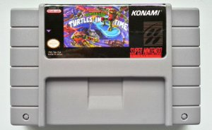 Jogo Turtles in Time (Turtles IV) - SNES