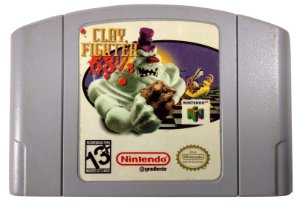 Clay Fighter 63 1/3 Original - N64