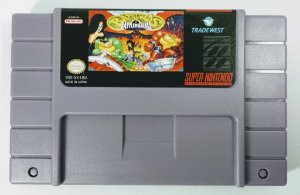 Jogo Battletoads in Battlemaniacs - SNES