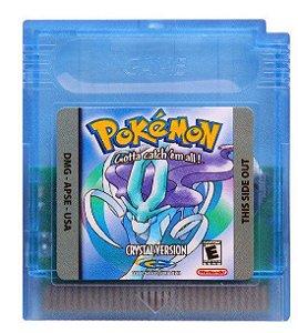Jogo Pokemon Crystal - GBC