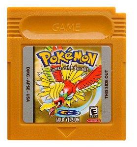 Jogo Pokemon Gold - GBC