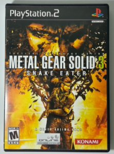 Metal Gear Solid 3 - PS2