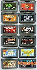 Jogos Originais (cada) Game Boy Advance - GBA
