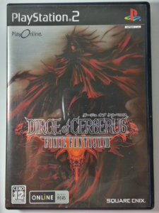 Dirge of Cerberus Final Fantasy VII [Japonês] - PS2