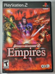 Dynasty Warriors 4 Empires Original - PS2