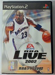NBA Live 2002 [Japonês] - PS2