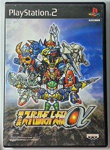 Dai-2-Ji Super Robot Taisen Alpha [Japonês] - PS2