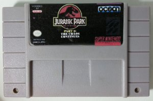 Jurassic Park part 2: The Chaos Continues - SNES