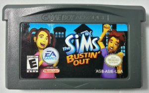 The Sims Bustin out Original - GBA